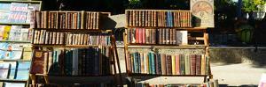 Books at a Market Stall, Havana, Cuba