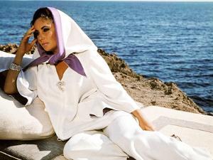 BOOM !, 1968 directed by JOSEPH LOSEY Elizabeth Taylor (photo)