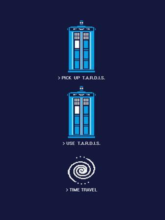 8 Bit Tardis - Doctor Who Video Game Mashup by Boots