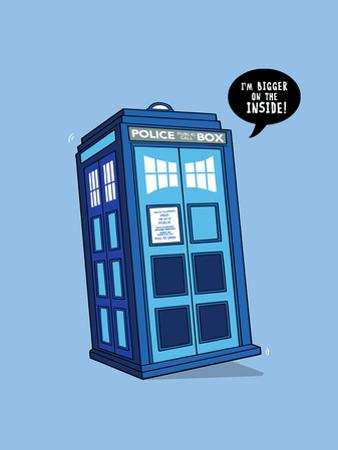 Bigger on the Inside - Cute Tardis by Boots
