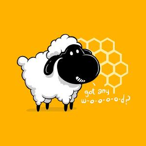 Catan You Give Me Wood? - Board Game Geek Sheep by Boots