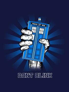 Don't Blink - Geek Propaganda Poster by Boots