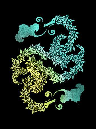 Dragons Blow - Chinese Dragon Yin Yang by Boots