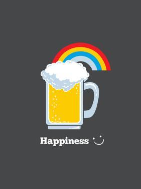 Happiness - Cute Beer by Boots