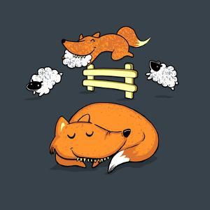 Mmm... Schleep - Cute Fox by Boots