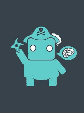 Ninja Pirate Robot Zombie by Boots