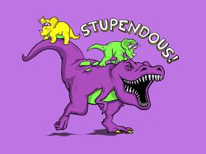 Stupendous - 90s Nostalgia Dinosaur by Boots