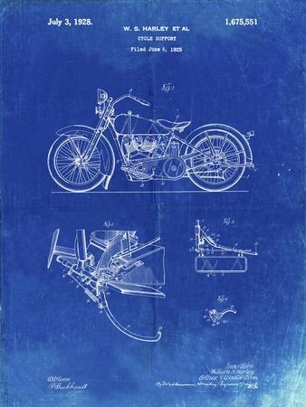 PP10 Faded Blueprint