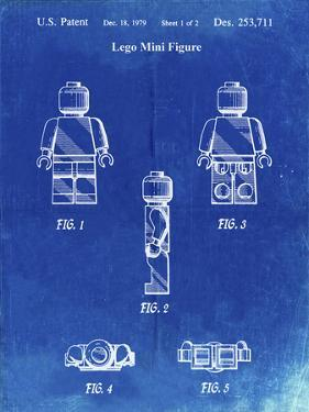 PP41 Faded Blueprint by Borders Cole
