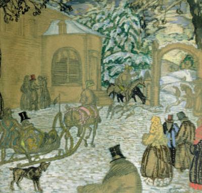 Illustraton For Dubrovsky, by Alexander Pushkin