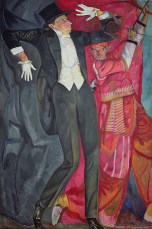 Portrait of the Producer Vsevolod Emilievich Meyerhold (1874-1940) 1916