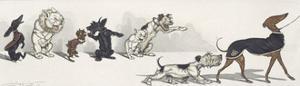 Dirty Dogs Of Paris IV by Boris O'Klein