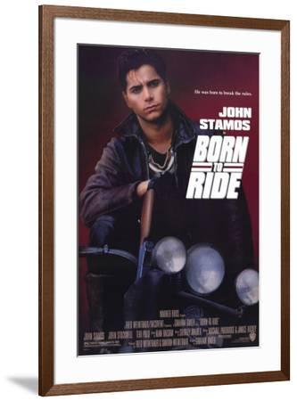 Born to Ride--Framed Poster