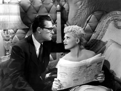 Born Yesterday, William Holden, Judy Holliday, 1950