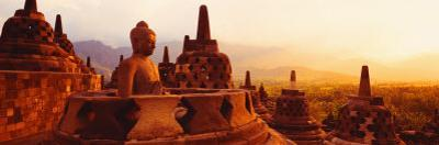 Borobudur Buddhist Temple Java Indonesia