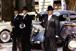 Borsalino and Co by Jacques Deray with Alain Delon, 1974 (photo)