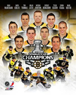 Boston Bruins 2011 NHL Stanley Cup Championship Composite