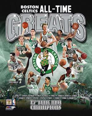 Boston Celtics - All Time Greats