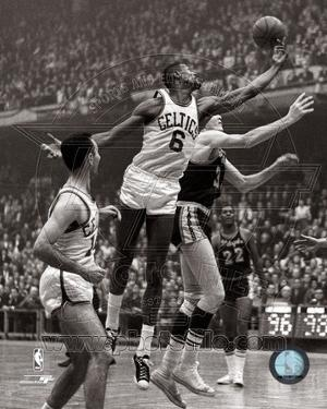 Boston Celtics - Bill Russell Photo