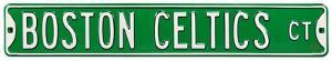 Boston Celtics Ct Steel Sign