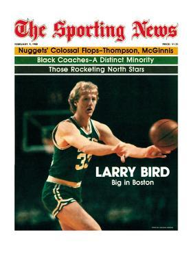 Boston Celtics' Larry Bird - February 9, 1980