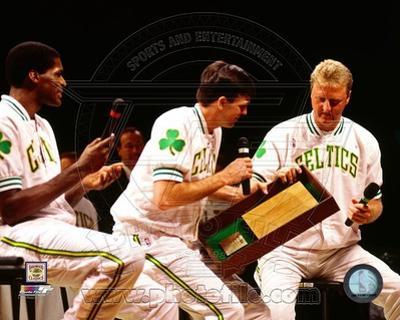 Boston Celtics - Larry Bird, Kevin McHale, Robert Parish Photo