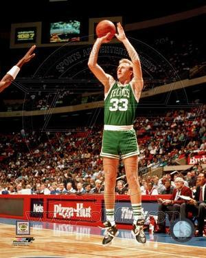 Boston Celtics - Larry Bird Photo