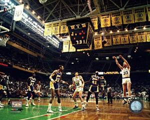 Boston Celtics - Larry Bird Photo