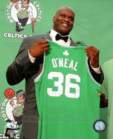 Boston Celtics Shaquille O'Neal 2010 Press Conference