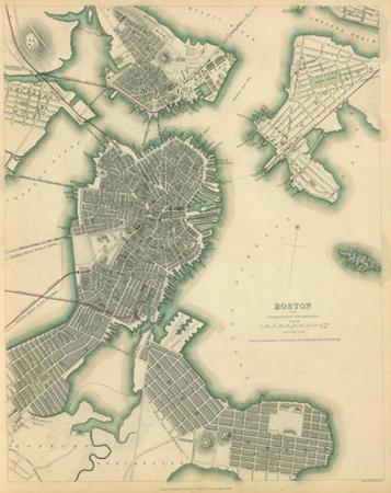 Boston, Massachusetts, c.1842