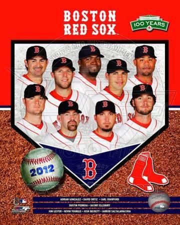 Boston Red Sox 2012 Team Composite