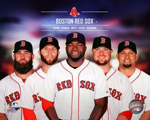 Boston Red Sox 2014 Team Composite