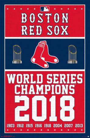 BOSTON RED SOX - CHAMPIONS 18