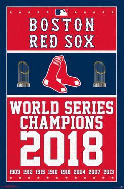 Boston Red Sox - Champions '18