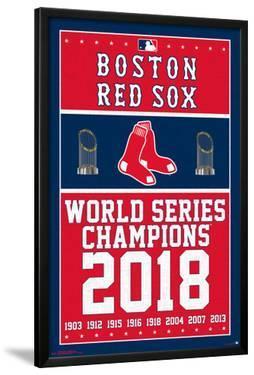 BOSTON RED SOX - CHAMPIONS 18