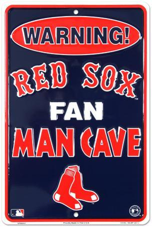 Boston Red Sox Fan Man Cave