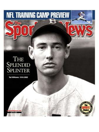 Boston Red Sox LF Ted Williams - July 15, 2002