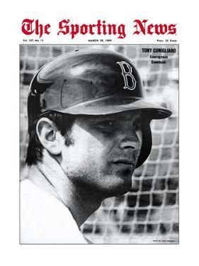 Boston Red Sox OF Tony Conigliaro - March 29, 1969
