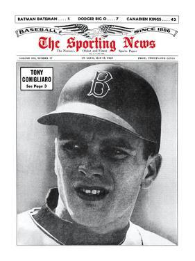 Boston Red Sox RF Tony Conigliaro - May 15, 1965