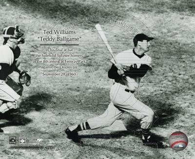 Boston Red Sox - Ted Williams Photo