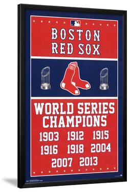Boston Red Sox World Series Champions