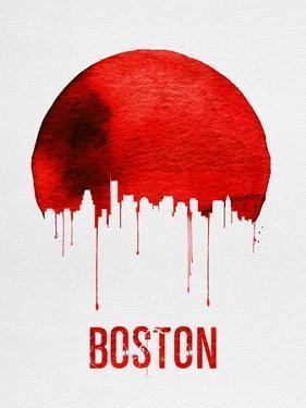 Boston Skyline Red
