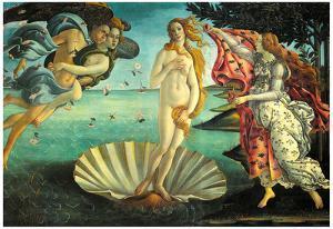 Botticelli (The Birth of Venus) Art Poster Print