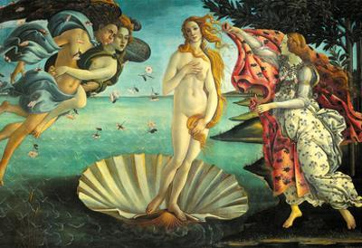 Botticelli (The Birth of Venus) Art Poster Print