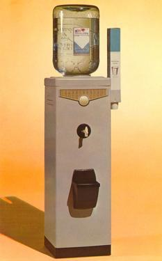 Bottled Water Cooler, Retro
