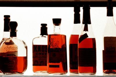 Bottles at the Jazz Standard Bar NYC