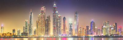 The Beauty Panorama of Dubai Marina. UAE by boule1301
