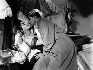 Boulevard du Crepuscule Sunset Boulevard by BillyWilder with Gloria Swanson and William Holden, 195