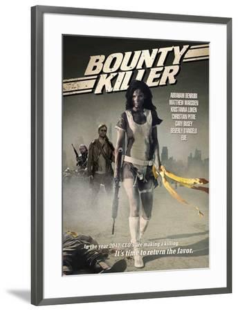 Bounty Killer Movie Poster--Framed Poster