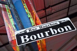Bourbon Street Sign NewOrleans